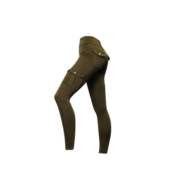 1PC confortable taille haute sport Leggings Yoga pantalon Fitness pour filles femmes