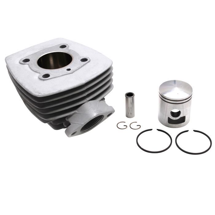 cylindre cyclo adaptable peugeot 103 air (bride+ecrou) (vendu sans joint) -alu nikasil airsal-