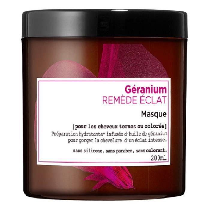 L'OREAL PARIS Botanicals Masque Soin Remède Eclat - Pour cheveux ternes ou colorés - 200 ml