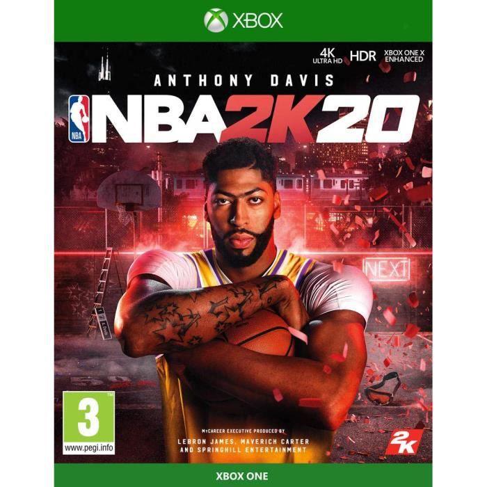 JEU XBOX ONE NBA 2K20 XBOX ONE + 14 Jours d essai XBOX LIVE