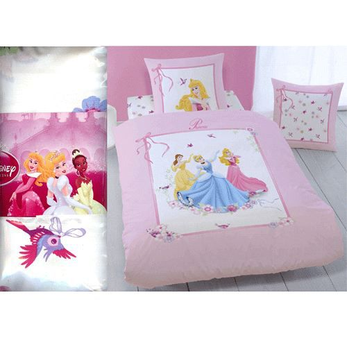 drap housse disney princesses ruban achat vente drap housse cdiscount. Black Bedroom Furniture Sets. Home Design Ideas
