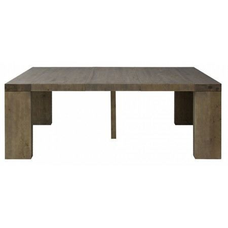 Table console extensible capuccino 3 rallonges achat vente console table - Cdiscount console extensible ...