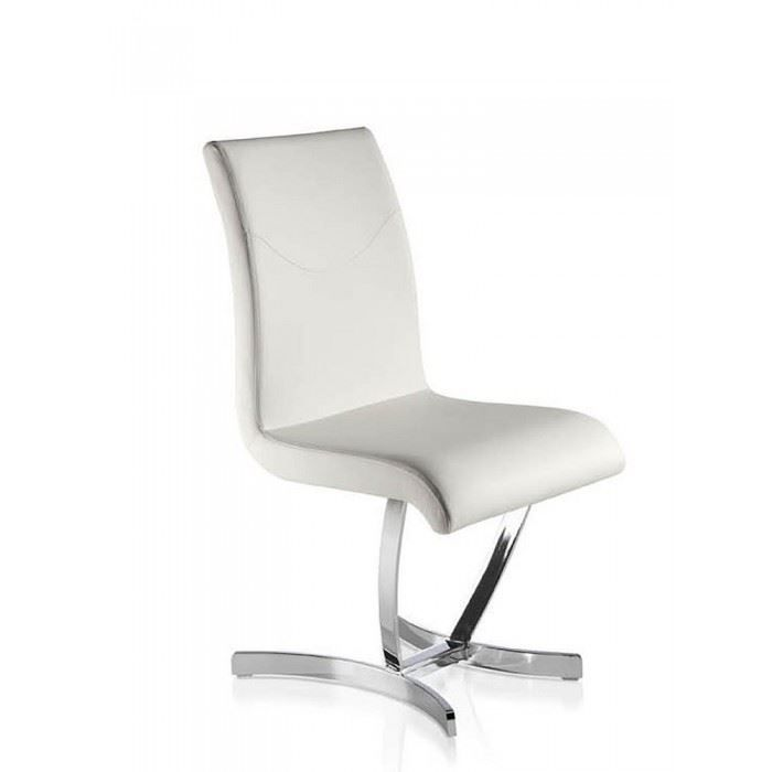 Chaises Salle A Manger Design Comfy Blanches X4 Achat Vente