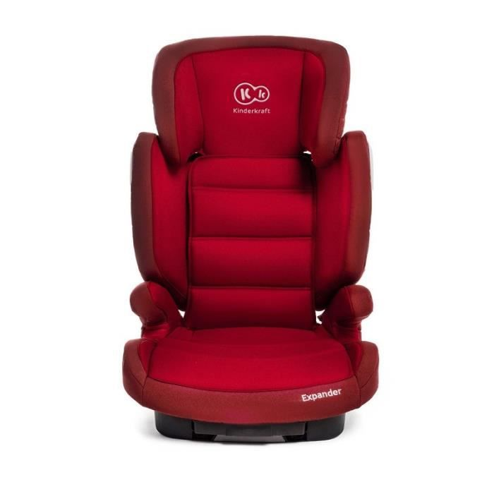 si ge auto et rehausseur isofix expander groupe 2 et 3 15 36 kg evolutif rouge achat vente. Black Bedroom Furniture Sets. Home Design Ideas