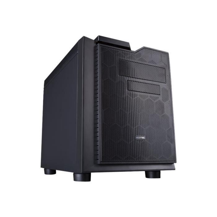 BOITIER PC  HIDITEC DRACK KUBE Cube micro ATX pas d'alimentati