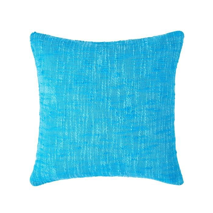 coussin d houssable turquoise nirvana 60 x 60 cm achat. Black Bedroom Furniture Sets. Home Design Ideas