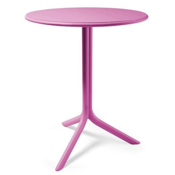 Table ronde NARDI Spritz 60 cm - Rose - Achat / Vente table de ...