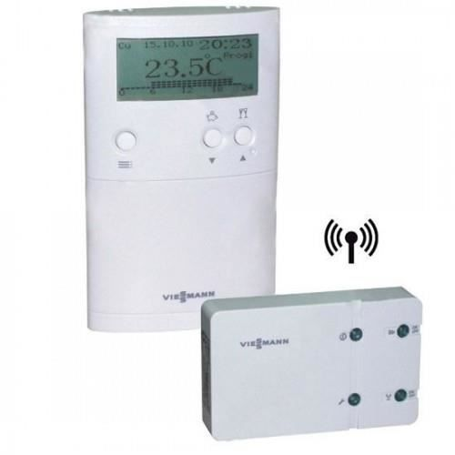 thermostat vitotrol 100 utdb rf viessmann pour achat. Black Bedroom Furniture Sets. Home Design Ideas
