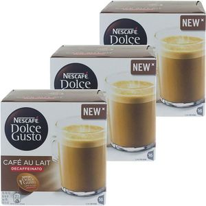 CAFÉ CD-344Nescafé Dolce Gusto café au lait DECAFFEINAT
