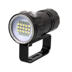 LAMPE DE POCHE 80m LED plongée photographie lampe de poche étanch