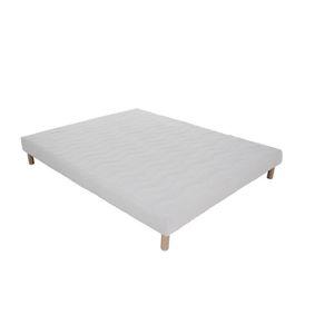 SOMMIER Sommier tapissier 120 x 190 cm + pieds