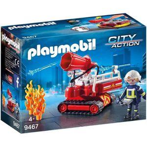 UNIVERS MINIATURE PLAYMOBIL 9467 - City Action - Pompier avec robot