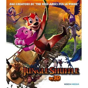 BLU-RAY FILM DVD Italien importé, titre original: jungle shuffl
