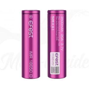 BATTERIE E-CIGARETTE 1 X Accu Efest 18650 - 3500 mAh 20A batterie