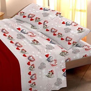 3 pi/èces Parure de lit pour b/éb/é Motif : panda 40 x 60 cm Flanelle 100 x 135 cm 1 drap housse 70 x 140 cm