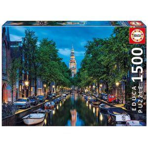 PUZZLE EDUCA - Puzzle Amsterdam 1500 pcs