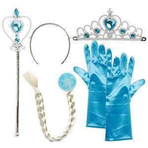 DÉGUISEMENT - PANOPLIE Set de déguisement de filles pour costume d'Elsa l