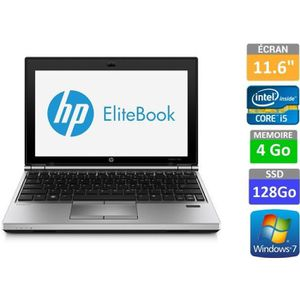 ORDINATEUR PORTABLE HP EliteBook 2170p Ultraportable 11,6