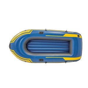 ANNEXE GONFLABLE INTEX Set Bateau Challenger 2 - 2 personnes - Bleu