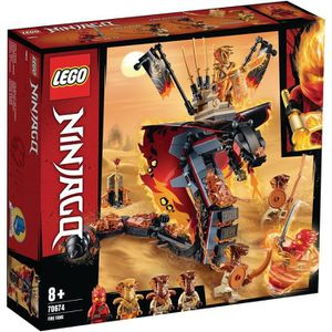 ASSEMBLAGE CONSTRUCTION LEGO® NINJAGO® 70674 Croc' feu