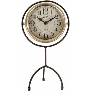HORLOGE - PENDULE Horloge sur Pied Pendule à Poser Index Heures Chif