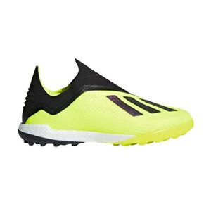 detailed look a0f20 3905f CHAUSSURES DE FOOTBALL Chaussures football adidas X Tango 18+ TF Jaune-No