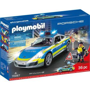 UNIVERS MINIATURE PLAYMOBIL 70067 City action - figurines - Porsche