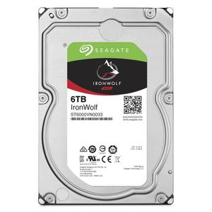DISQUE DUR INTERNE SEAGATE Disque dur interne IronWolf 6 To - ST6000V