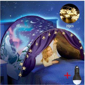 TENTE DE LIT Dream Tents pour enfants Tente de Lit Tente de cam
