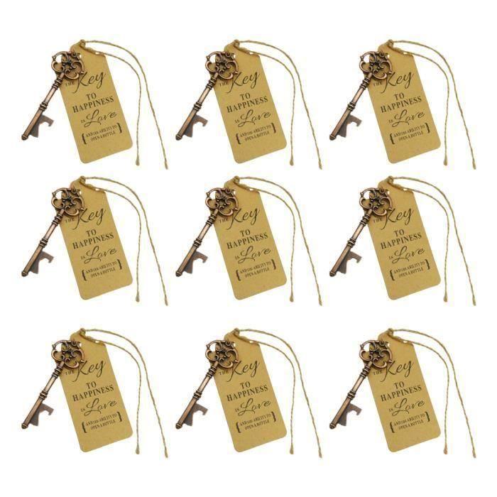 30 pcs Ouvre-Bouteilles Rétro Mémorable Vintage Clé Faveur De Mariage pour Bar Wedding TIRE-BOUCHON - DECAPSULEUR - LIMONADIER