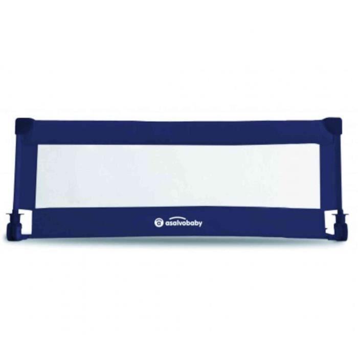 Barrière de lit Asalvo 140 cm - Bleu