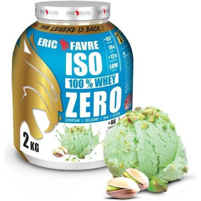 Eric Favre - Iso Zero 100% Whey Protéine - Proteines - Pistache
