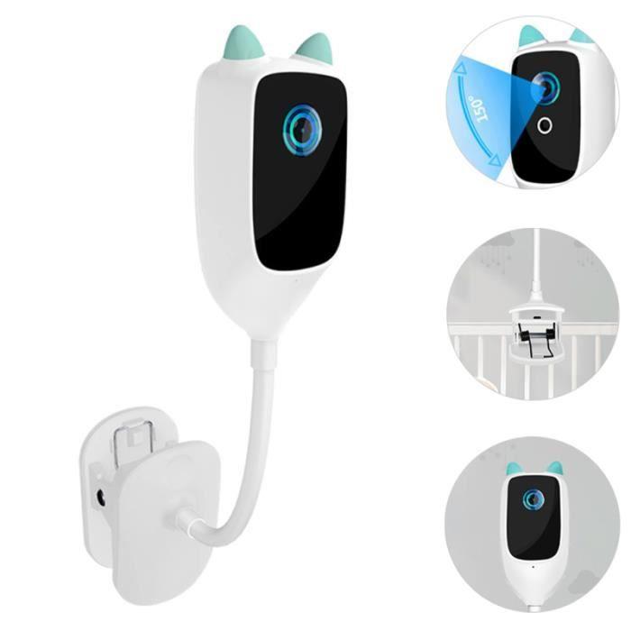 2MP Clip-on Baby Monitor pleurer la détection de mouvement de surveillance caméra baby phone - ecoute bebe securite bebe