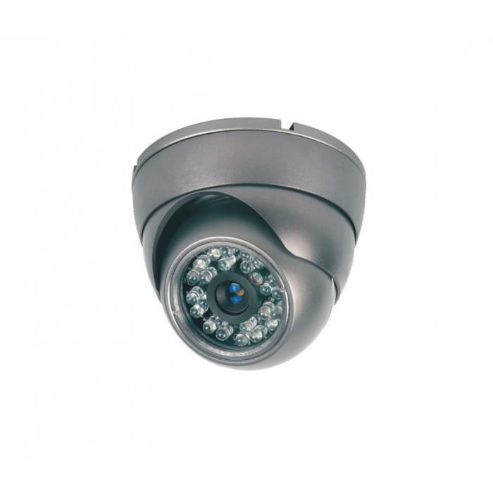 Caméra vidéosurveillance CCTV COULEUR LED IR METAL