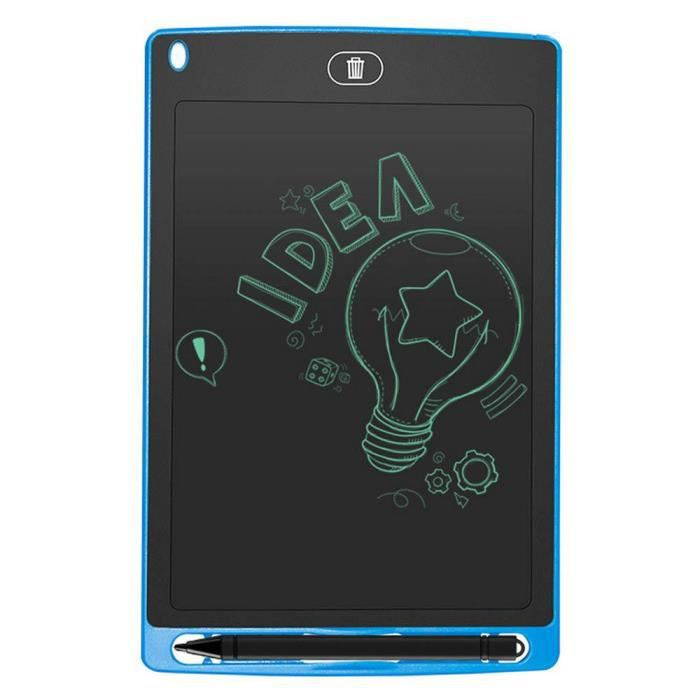 Leegoal 8.5 pouces Lcd Tablette d'écriture Dessin Graphique pour enfant Bleu