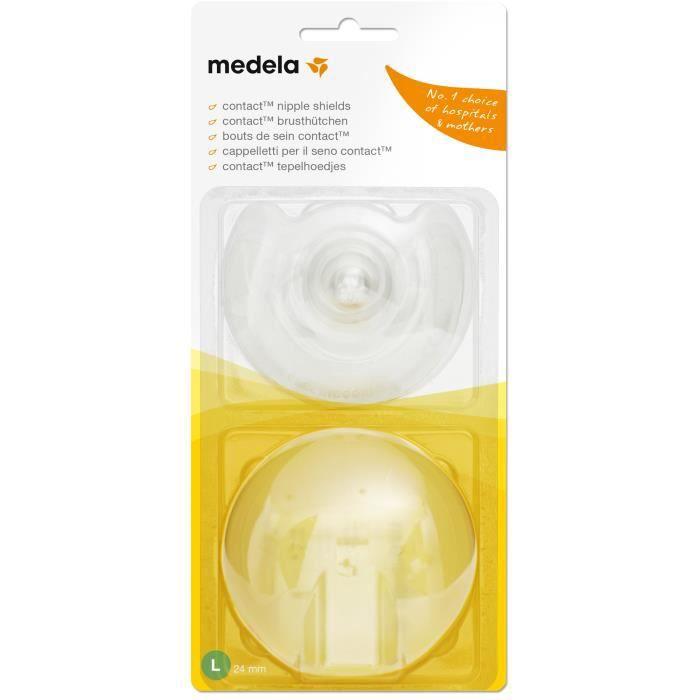 MEDELA Bouts de sein Contact™ Taille L (Boîte de 2)