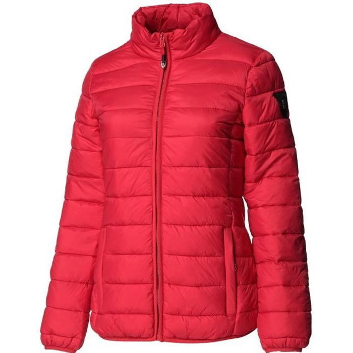GEOGRAPHICAL NORWAY Doudoune Areca Basic 001 + BS - Femme - Rouge
