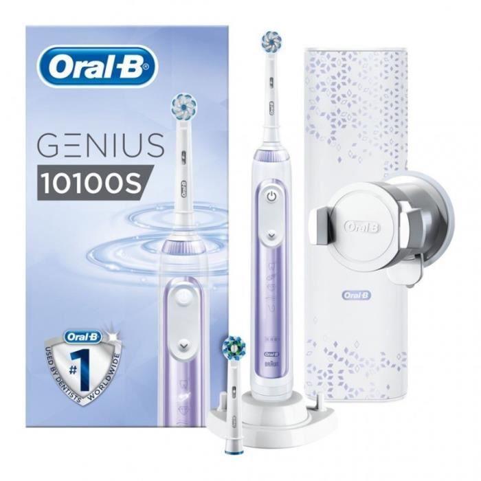 Brosse à dents électrique Oral-B Genius 10100S Orchidée