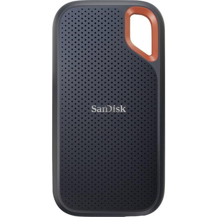SanDisk Extreme® Portable 2 TB Disque dur externe SSD 2,5 USB noir, orange SDSSDE61-2T00-G25