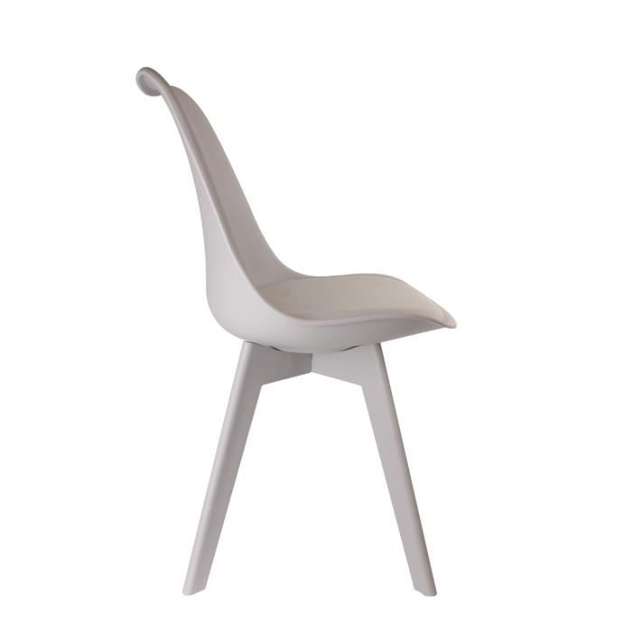 Chaise Full Color gris