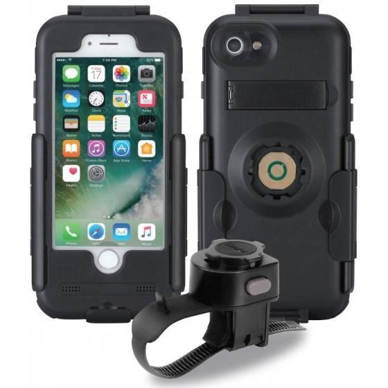 Tigra Sport étui FitClicpour téléphone Apple iPhone 7/8 noir