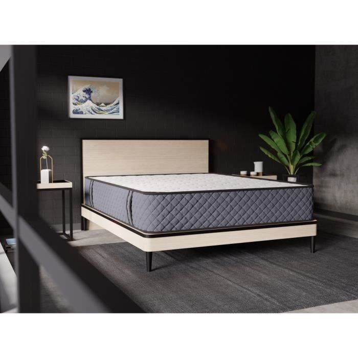 matelas 140x190 aloe vera memoire de forme 27cm achat vente matelas cdiscount. Black Bedroom Furniture Sets. Home Design Ideas