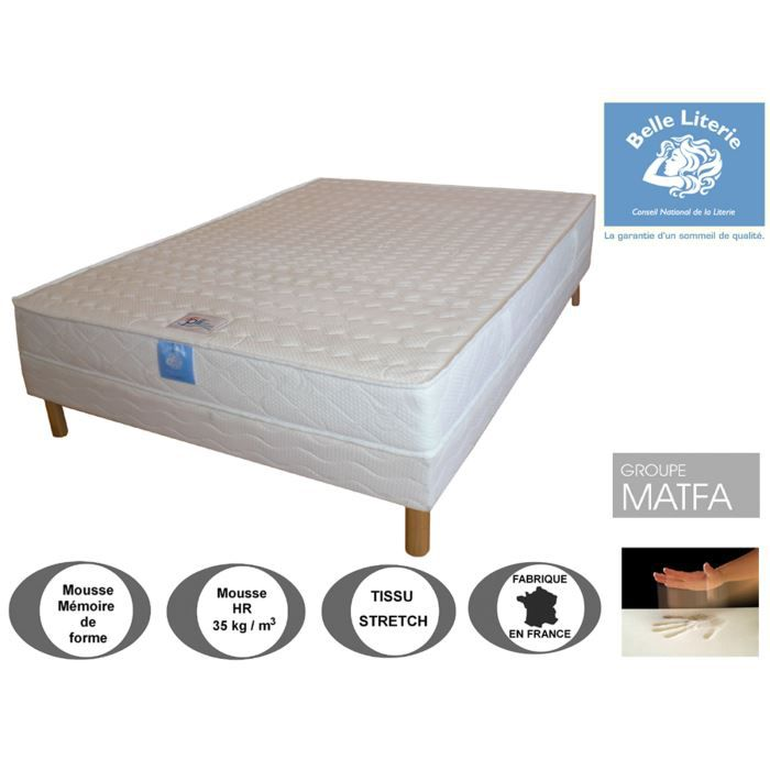 ensemble matelas orthoform belle literie par am 2009992624674 achat vente ensemble. Black Bedroom Furniture Sets. Home Design Ideas
