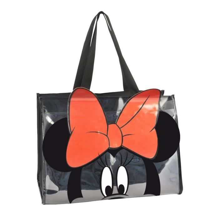 minnie sac de plage transparent achat vente panier sac de plage 8014514622674 cdiscount. Black Bedroom Furniture Sets. Home Design Ideas
