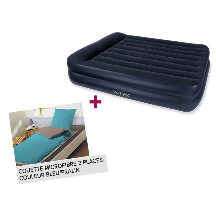 matelas gonflable lectrique 2 places intex classic. Black Bedroom Furniture Sets. Home Design Ideas