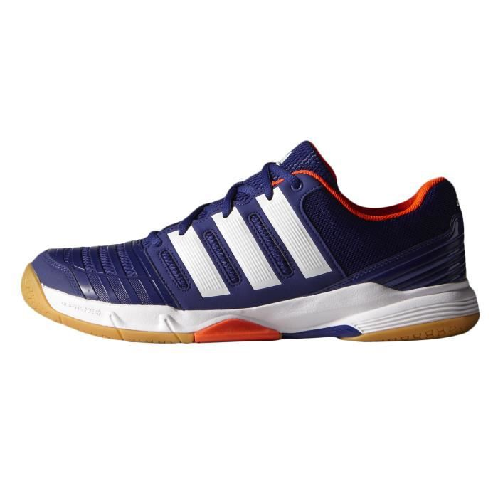 well known promo codes online for sale Chaussures Handball Court Stabil 11 Bleu/Orange - Prix pas ...