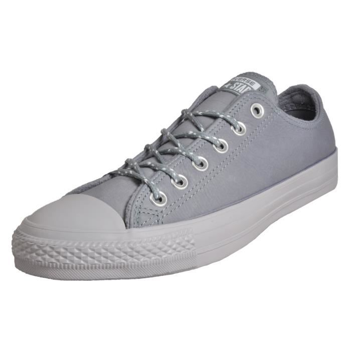 converse basse grise homme