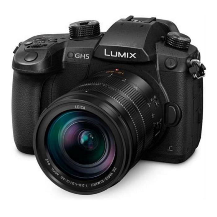 APPAREIL PHOTO COMPACT Panasonic Lumix DMC-GH5 kit (12-60) Appareil photo