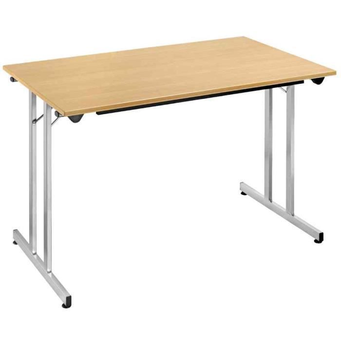 Table pliante tpmu128ha 1200 x 800 mm h tre alu achat for Table cuisine pliante pas cher