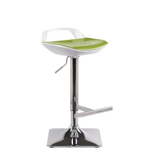tabourets chaise de bar ufo hauteur r glable vert. Black Bedroom Furniture Sets. Home Design Ideas
